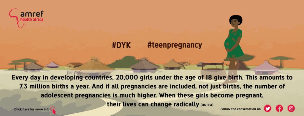 Fact sheet on teen pregnancy providing key facts and information on causes, consequences and responses.