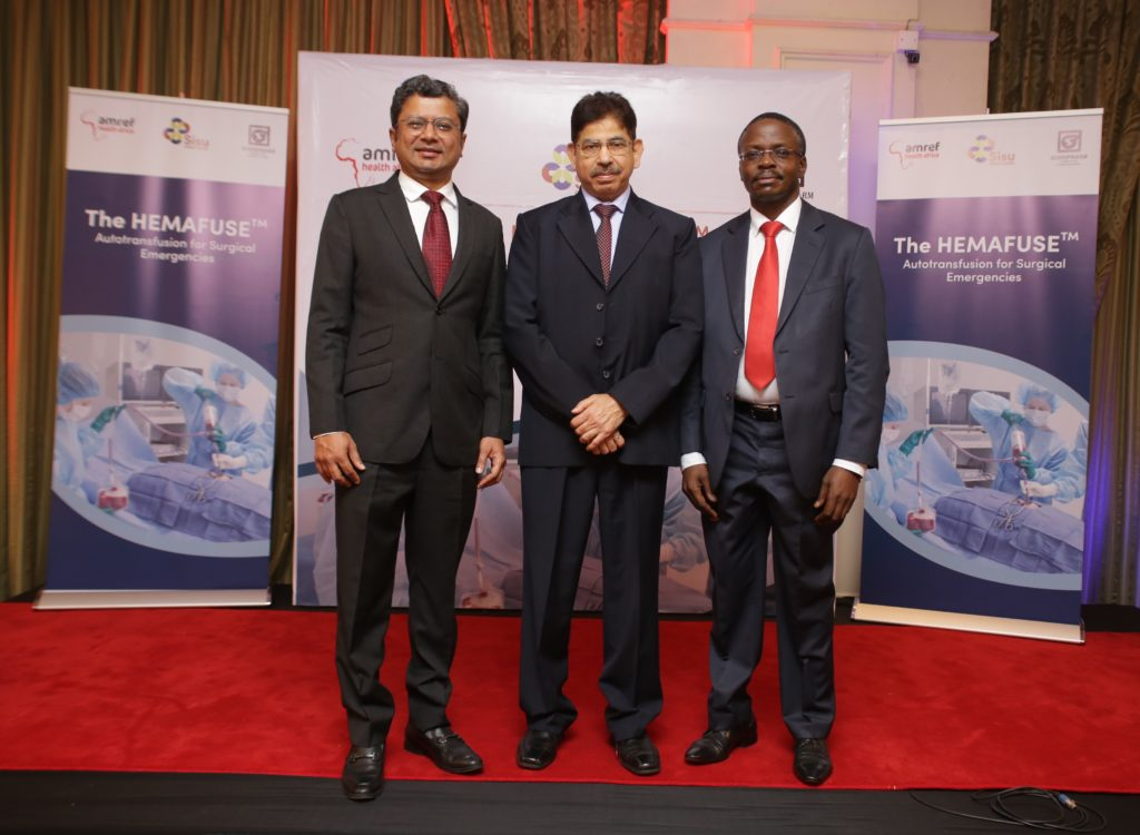 Amref Kenya Partners with Sisu Global Health and Surgipharm to improve access to blood