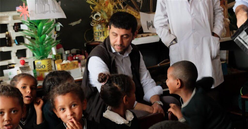 Direttore di Amref Health Africa in Italia, Gugliemo Micucci