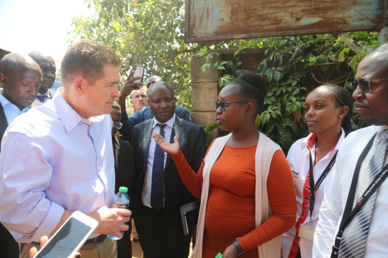 The United States Ambassador to Kenya Mr Kyle McCarter yesterday urged Kenyans to shift focus from external dollars and cents to Kenya's greatest resource – its people.