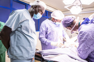 A First for Garissa County as Resident Surgeons are trained on Fistula Management