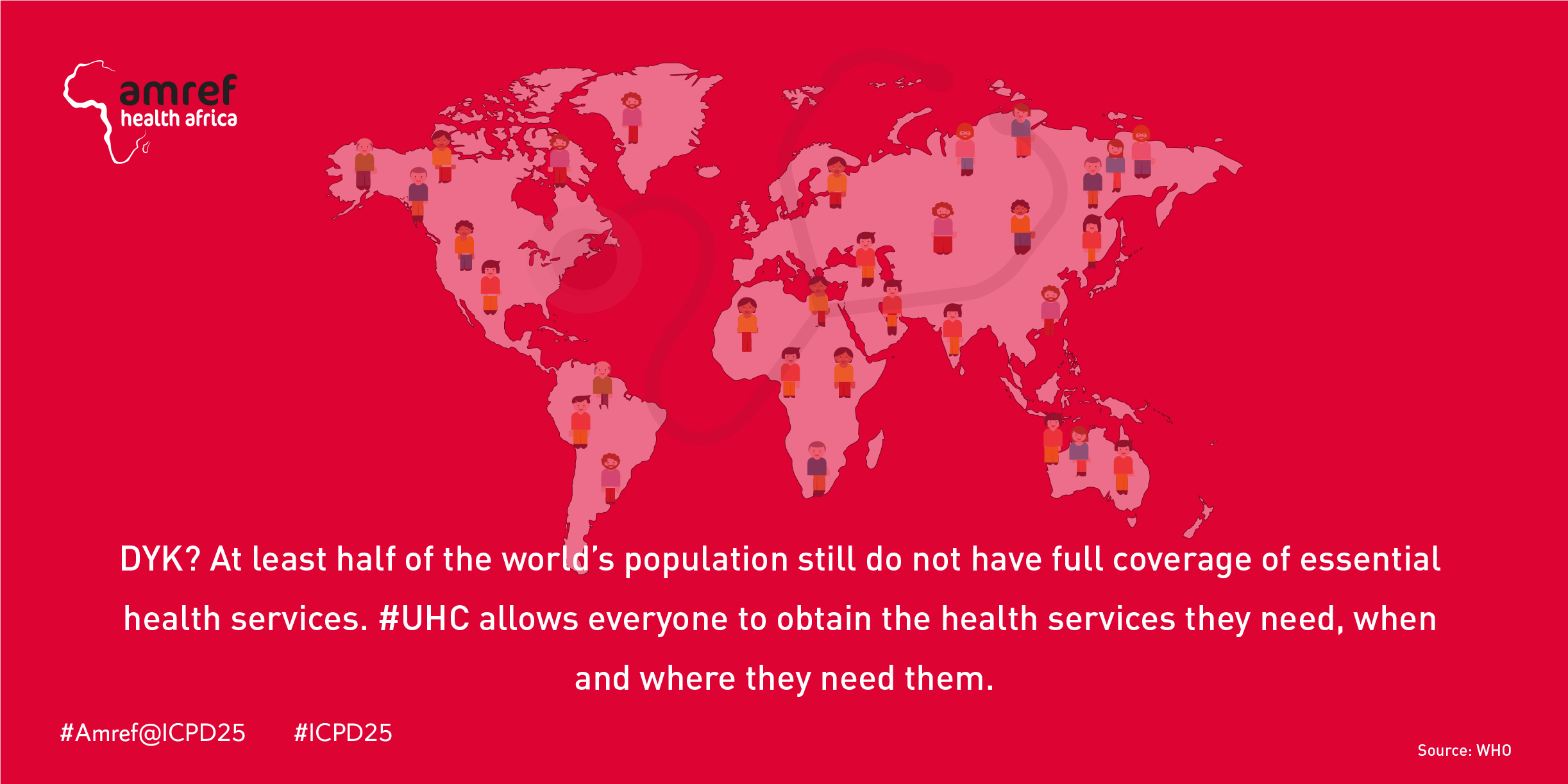 AMREF@ICPD25 CONFERENCE