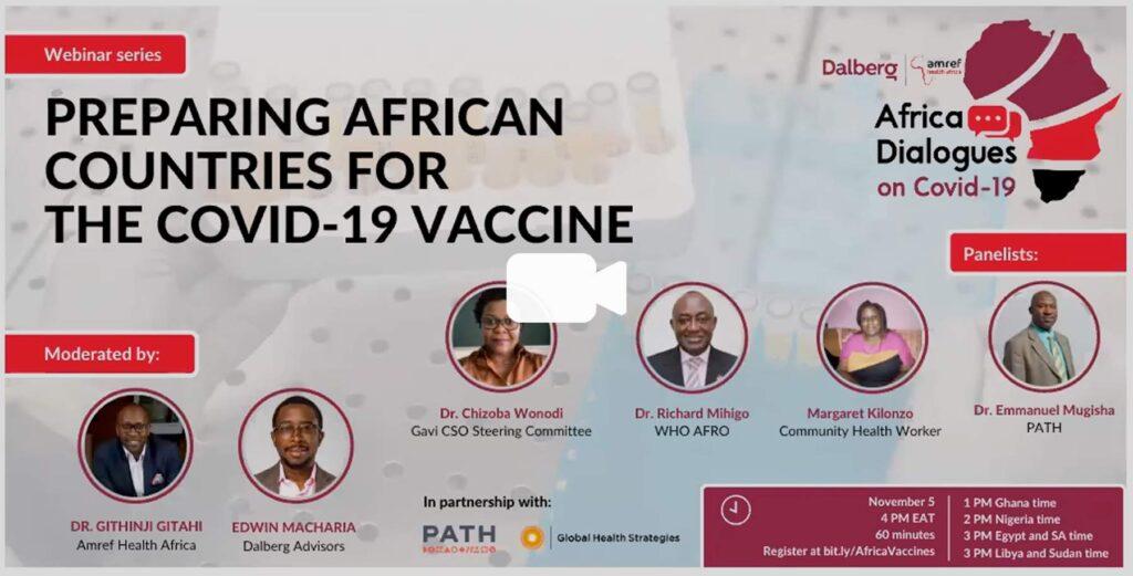 Watch the Africa Dialogues webinar