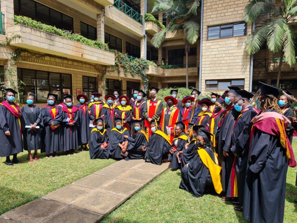 Amref International University hold its 2nd Graduation