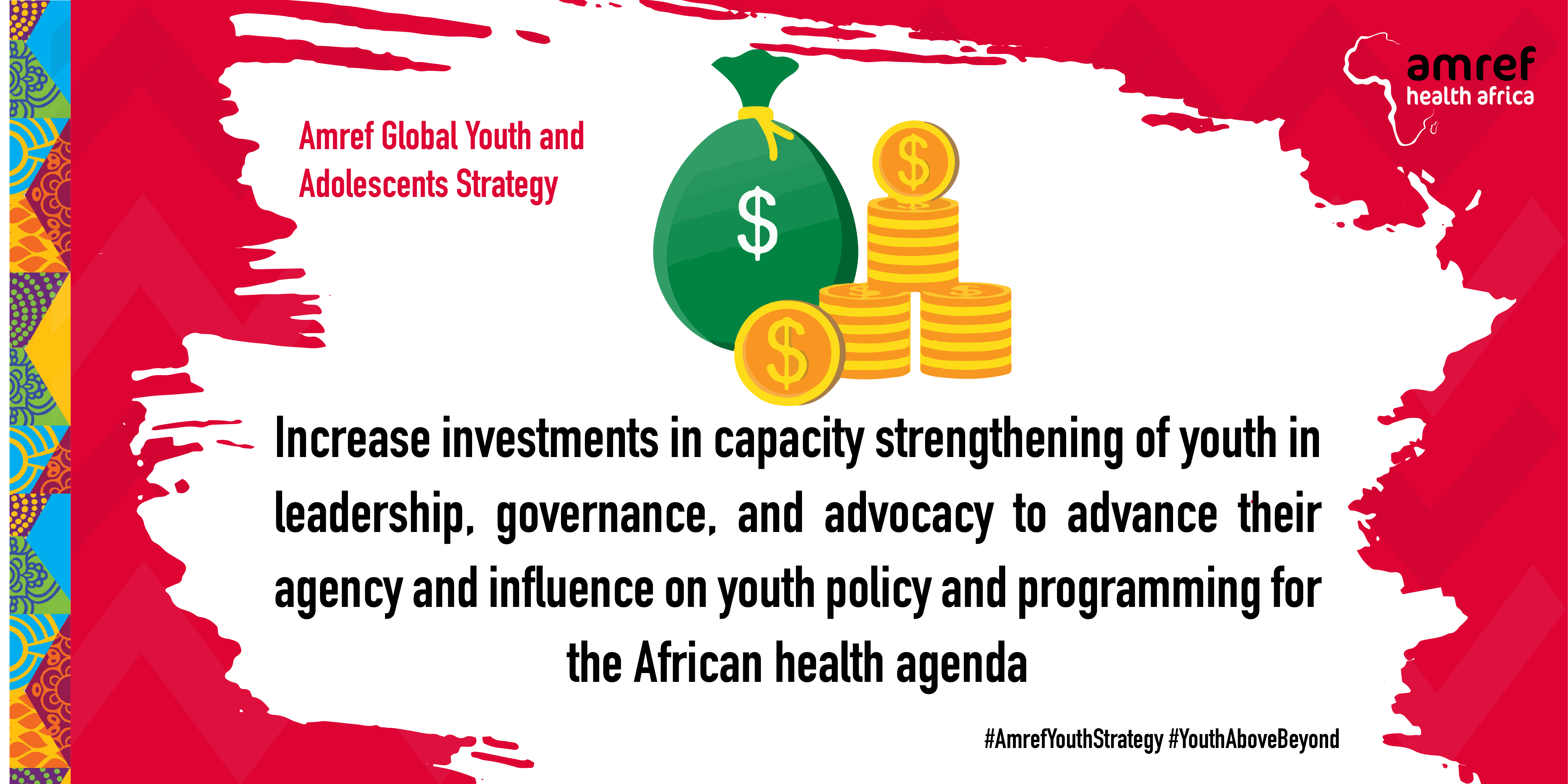 Amref Global Youth and Adolescents Strategy Launch